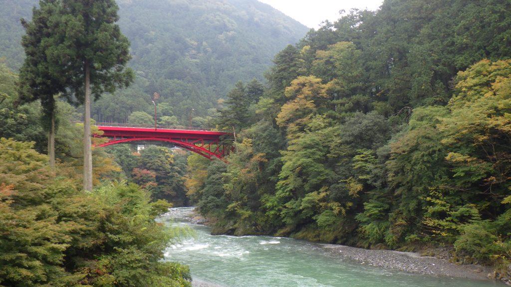 Hikawa River Gorge, Okutama