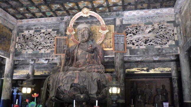 Jizo Bodhisattva in the Butsuden
