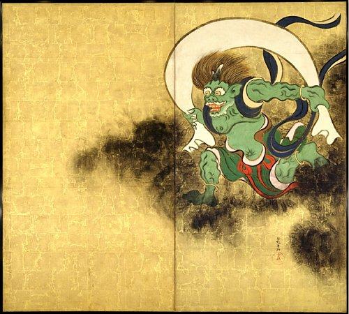 Fujin by Ogata Korin
