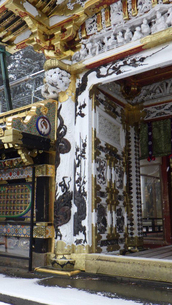 Dragon decoration on Karamon gate