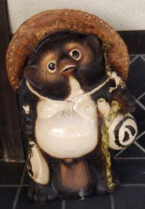 Typical tanuki kitsch