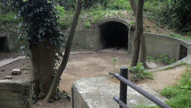 Sarushima gun battery site