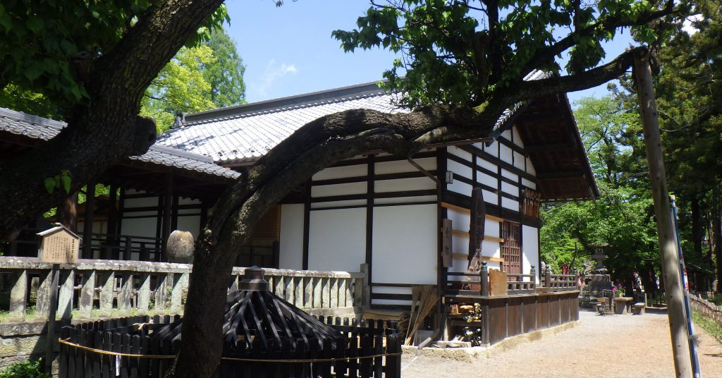 Sanada Well and Sanada Shrine
