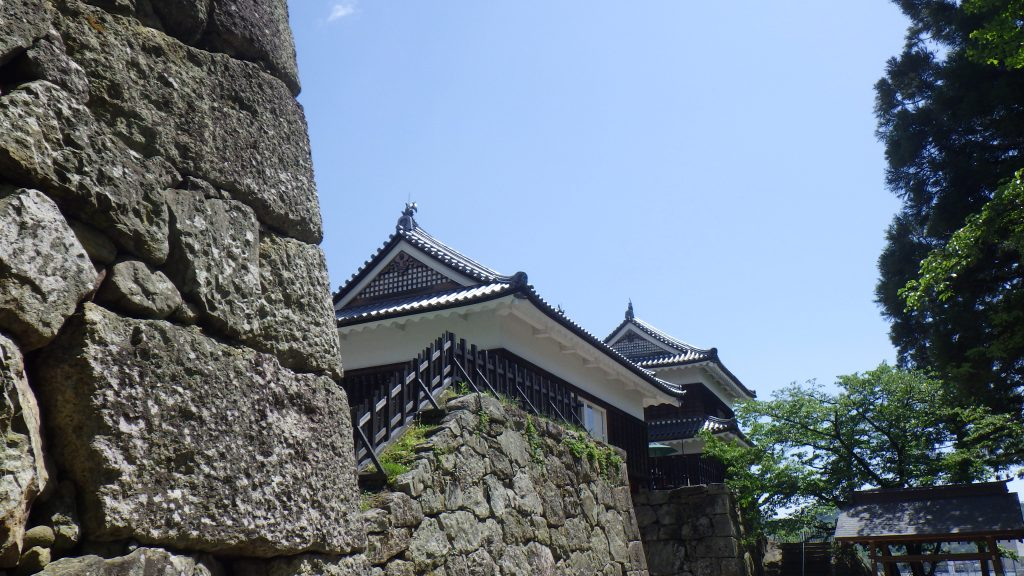 Ramparts and Yagura at Ueda Castle